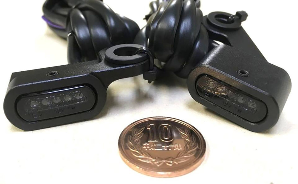 DRAG Specialtiesの極小LEDウィンカー!!