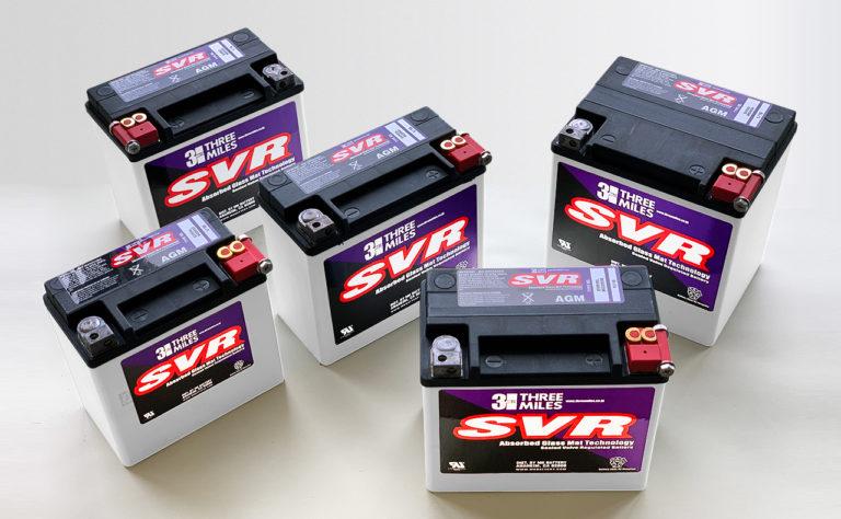 ハーレー用に耐振・耐熱性をさらに強化したSVRバッテリー!
